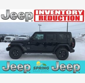 2019 Jeep Wrangler 4WD Unlimited Sahara for sale 101100332
