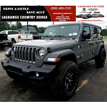 2019 Jeep Wrangler 4WD Unlimited Sport for sale 101109642