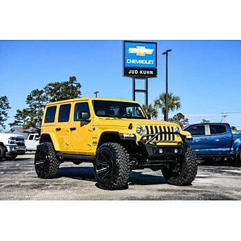 2019 Jeep Wrangler 4WD Unlimited Sahara for sale 101281871