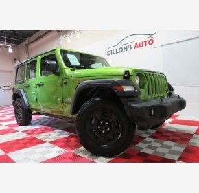 2019 Jeep Wrangler 4WD Unlimited Sport for sale 101318987