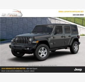 2019 Jeep Wrangler 4WD Unlimited Sport for sale 101332244