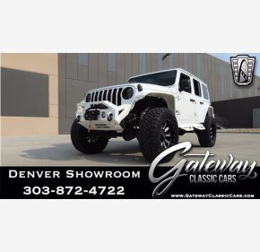 2019 Jeep Wrangler 4WD Unlimited Sahara for sale 101380915