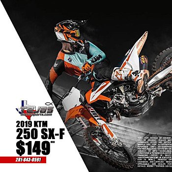 2019 KTM 250SX-F for sale 200632854