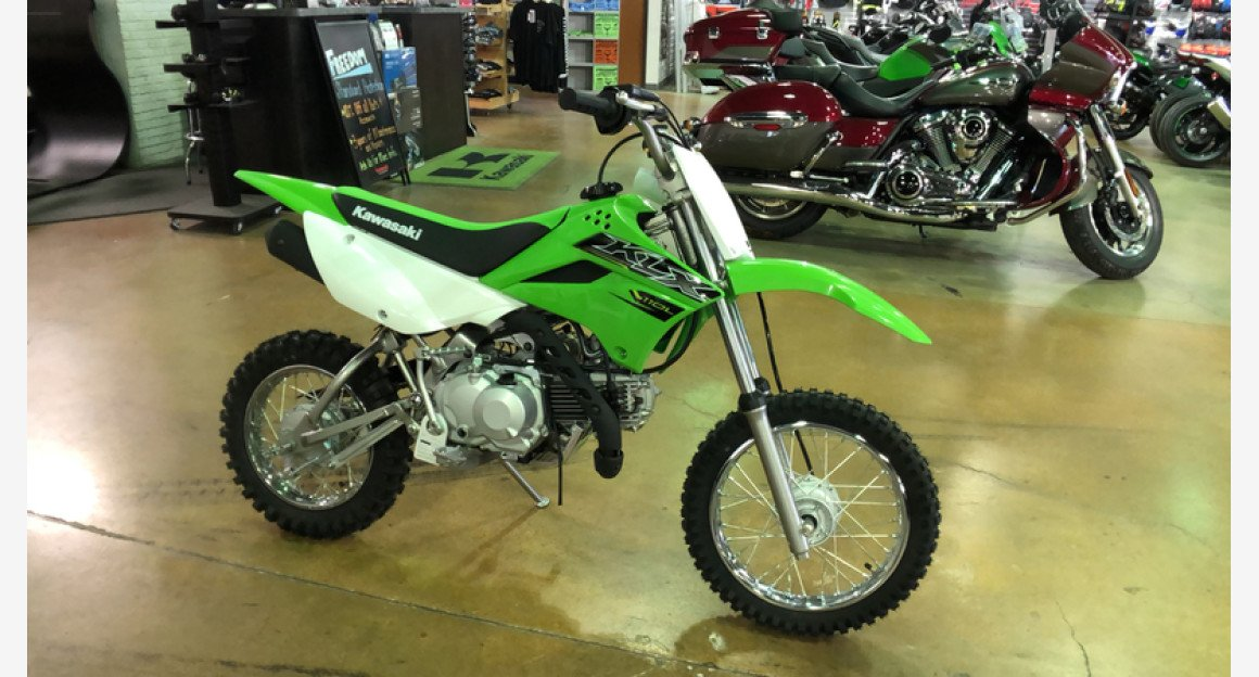 2019 Kawasaki KLX110 for sale 200601935