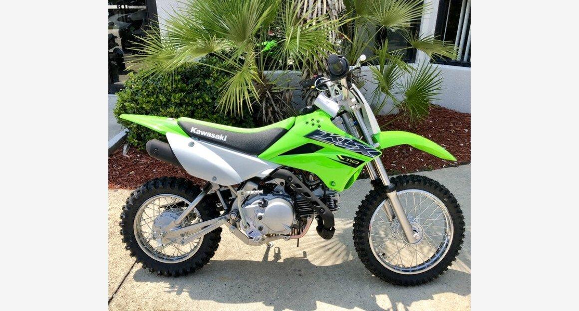2019 Kawasaki KLX110 for sale 200602629