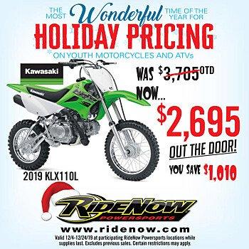 2019 Kawasaki KLX110 for sale 200748059