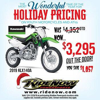 2019 Kawasaki KLX140 for sale 200748061