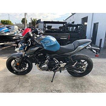 2019 Kawasaki Z650 for sale 200672219