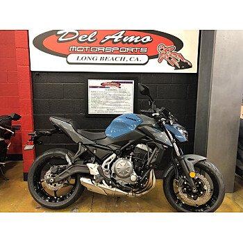 2019 Kawasaki Z650 for sale 200714611