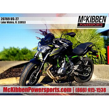 2019 Kawasaki Z650 for sale 200820460