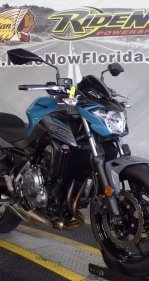 2019 Kawasaki Z650 for sale 201013517