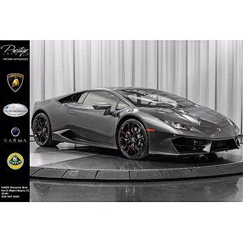 2019 Lamborghini Huracan LP 580-2 Coupe for sale 101392552