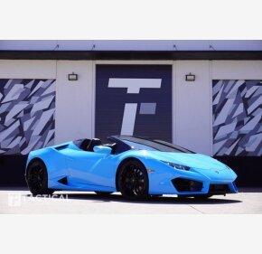 2019 Lamborghini Huracan LP 580-2 Spyder for sale 101466010