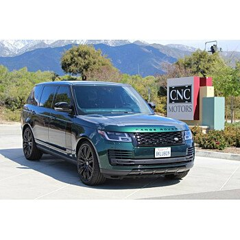 2019 Land Rover Range Rover Long Wheelbase Supercharged for sale 101290959