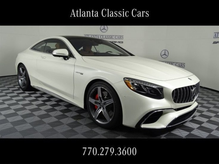 2019 Mercedes Benz S63 Amg 4matic Coupe For Sale Near Duluth