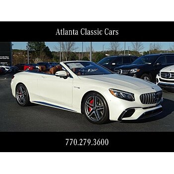 2019 Mercedes-Benz S63 AMG 4MATIC Cabriolet for sale 101064384