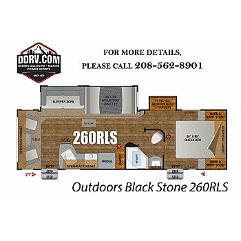 2019 Outdoors RV Black Stone for sale 300183074