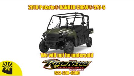 2019 Polaris Ranger Crew XP 570 for sale 200808311