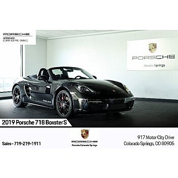 2019 Porsche 718 Boxster S for sale 101423217