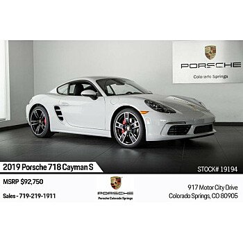 2019 Porsche 718 Cayman for sale 101209676