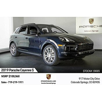2019 Porsche Cayenne S for sale 101209571