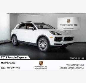 2019 Porsche Cayenne for sale 101209576