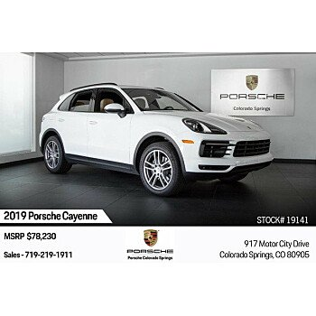 2019 Porsche Cayenne for sale 101209576