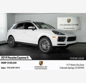 2019 Porsche Cayenne S for sale 101209589