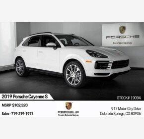 2019 Porsche Cayenne S for sale 101209590