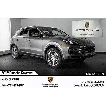 2019 Porsche Cayenne for sale 101209597