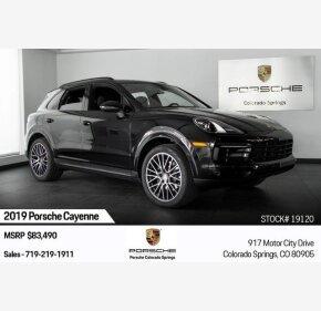 2019 Porsche Cayenne for sale 101209601