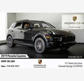 2019 Porsche Cayenne for sale 101209634