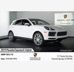2019 Porsche Cayenne E-Hybrid for sale 101209666