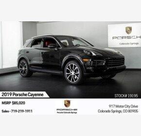 2019 Porsche Cayenne for sale 101209671