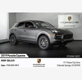 2019 Porsche Cayenne for sale 101209679