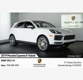 2019 Porsche Cayenne E-Hybrid for sale 101223018