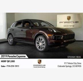 2019 Porsche Cayenne for sale 101262804