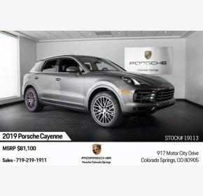 2019 Porsche Cayenne for sale 101281263