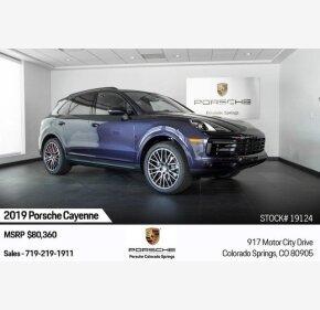 2019 Porsche Cayenne for sale 101281264