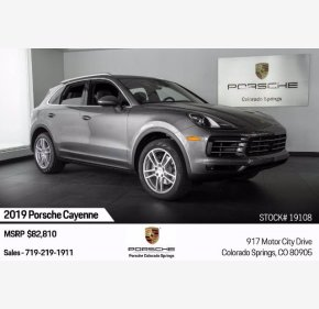 2019 Porsche Cayenne for sale 101368874