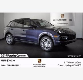 2019 Porsche Cayenne for sale 101373096