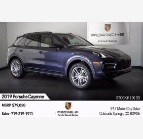2019 Porsche Cayenne for sale 101373096
