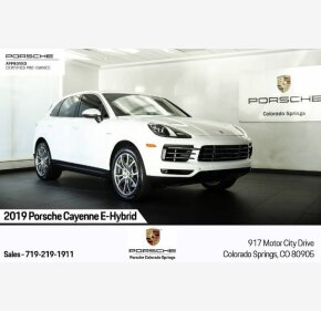 2019 Porsche Cayenne E-Hybrid for sale 101375572