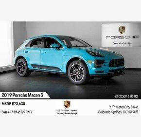 2019 Porsche Macan s for sale 101209678