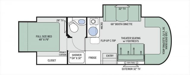 Alpenlite 5th Wheel Floor Plans