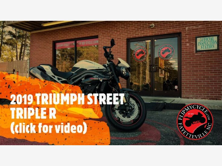 2019 Triumph Speed Triple RS for sale 201064365