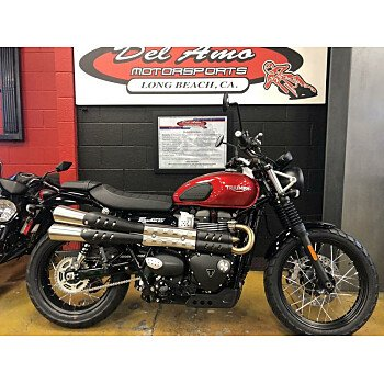 2019 Triumph Street Scrambler for sale 200714461
