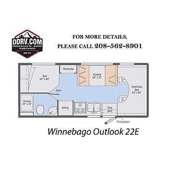 2019 Winnebago Outlook for sale 300164802