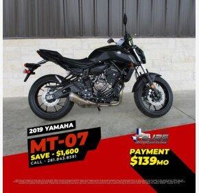 2019 Yamaha MT-07 for sale 200696202