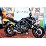 2019 Yamaha MT-07 for sale 200806636
